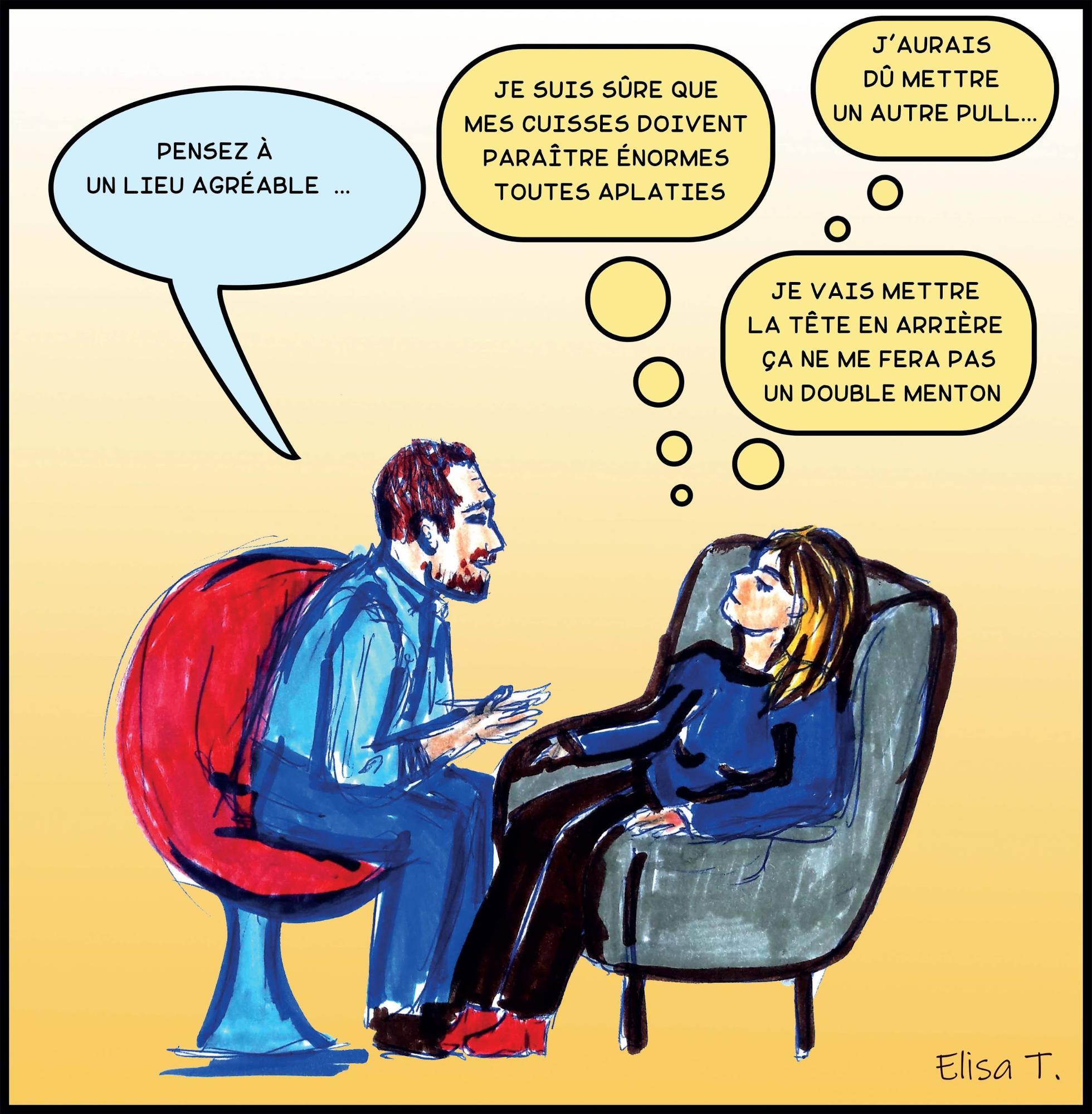 Hypnose contre le surpoids